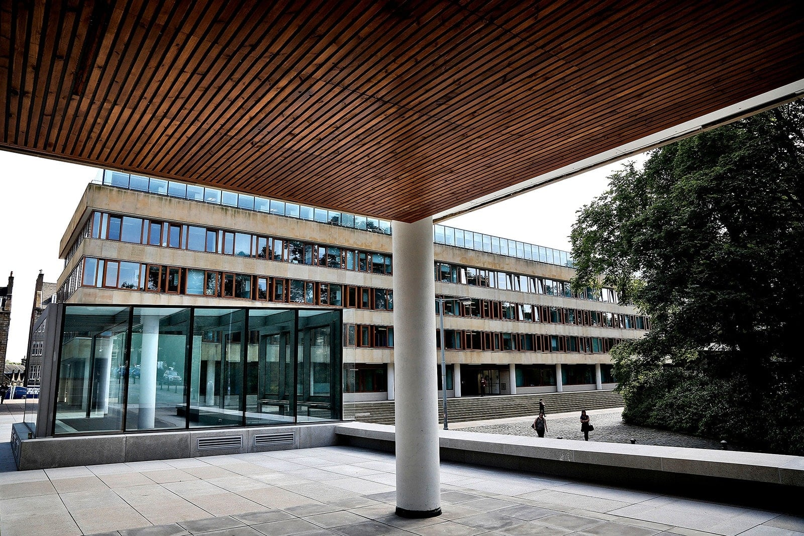 Business School exterior from George Square