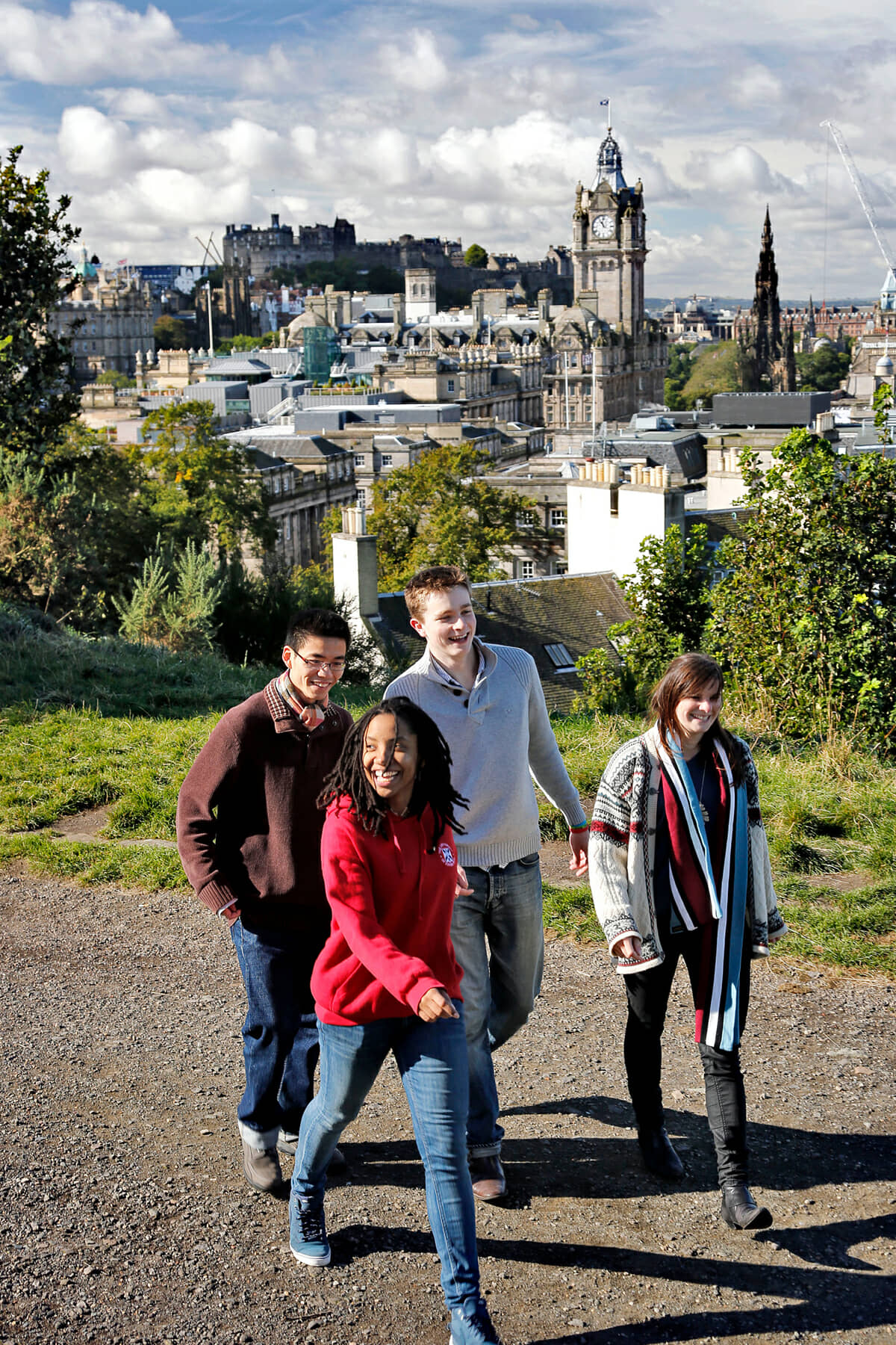 Students on Calton Hill - Paul Dodds