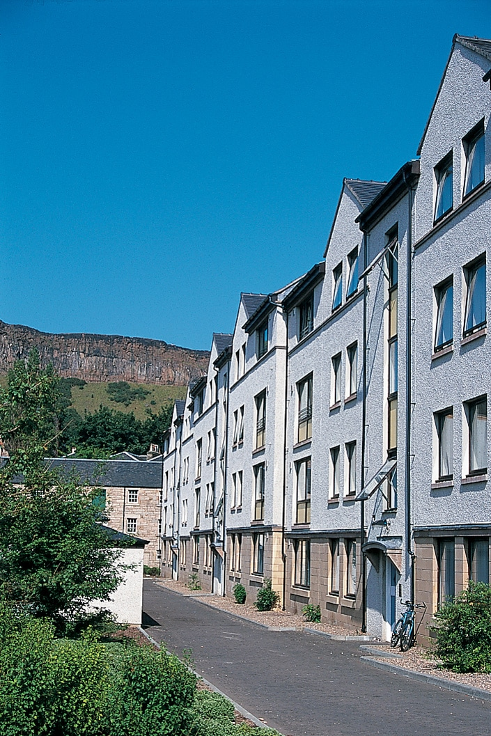 Exterior of postgraduate accommodation