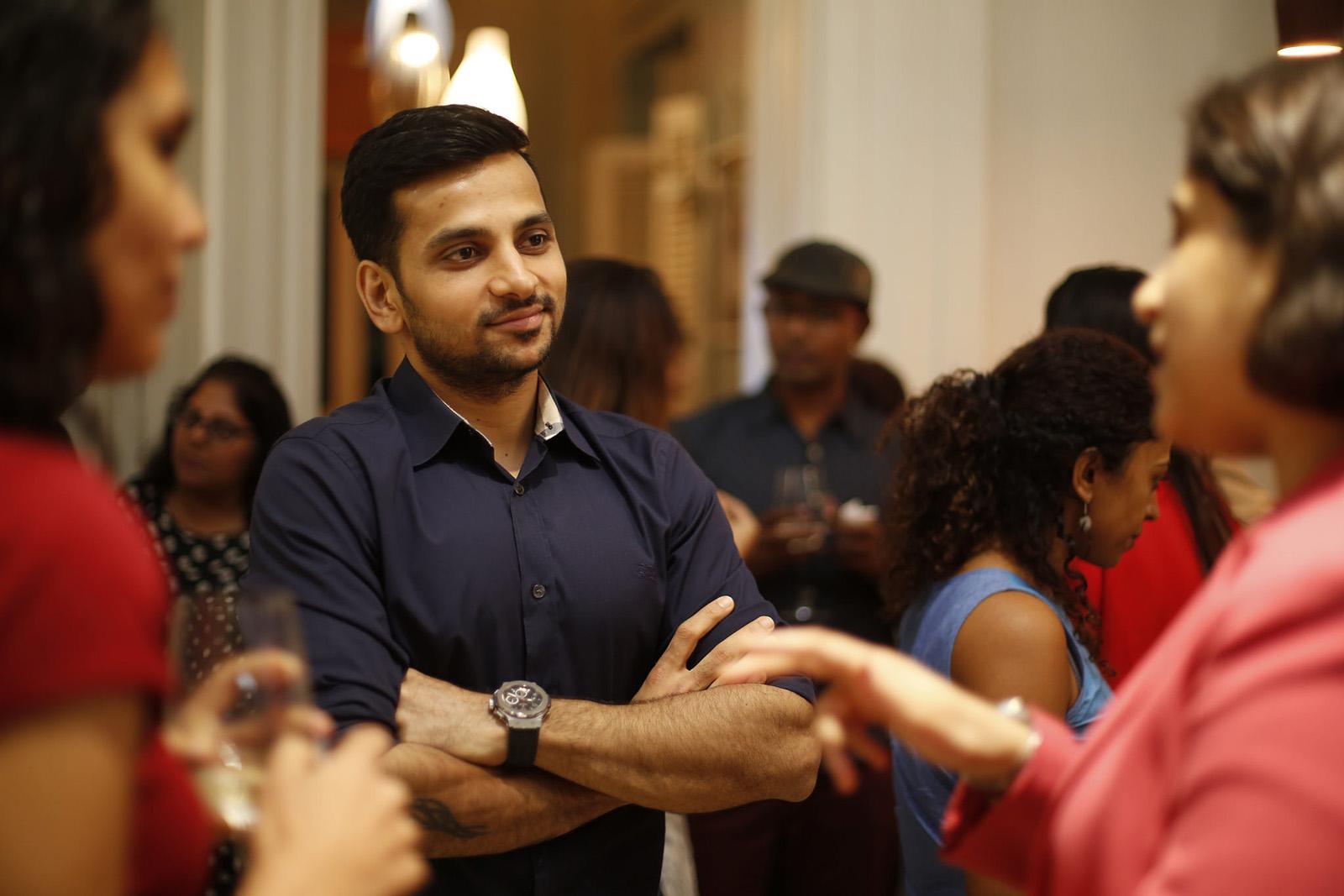 Alumni event in Mumbai, India