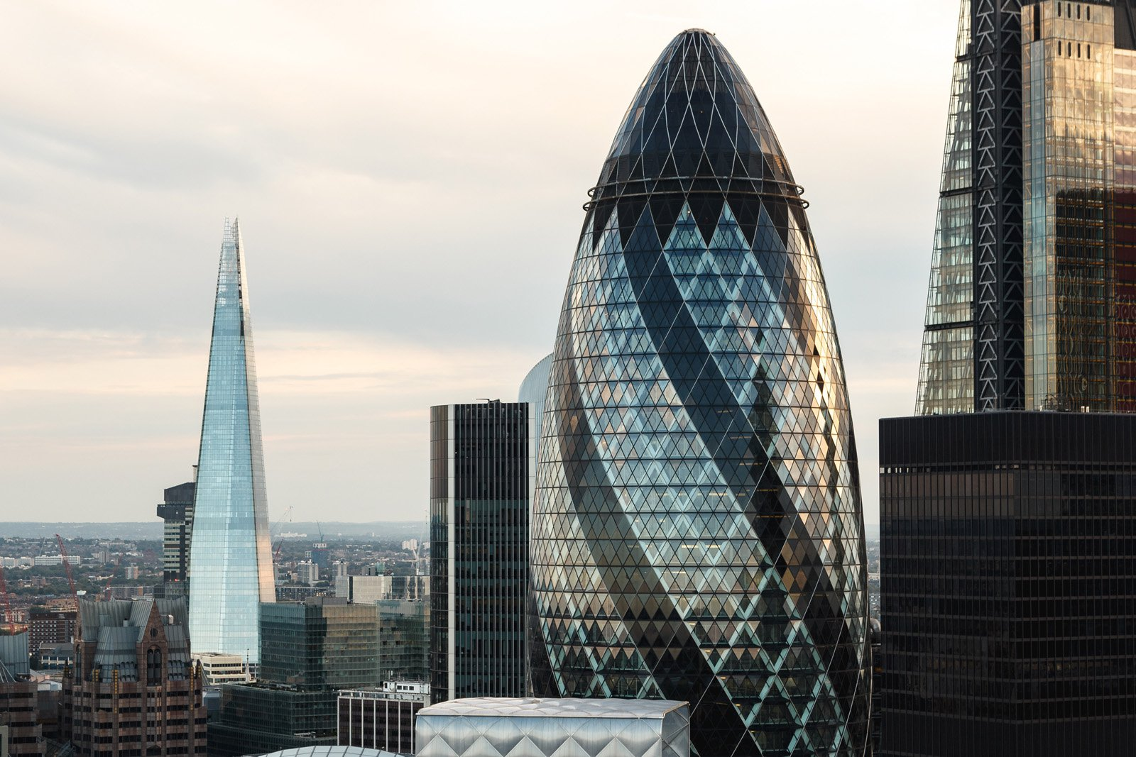 Entrepreneurial Ecosystems Article: Image of the Gherkin, London