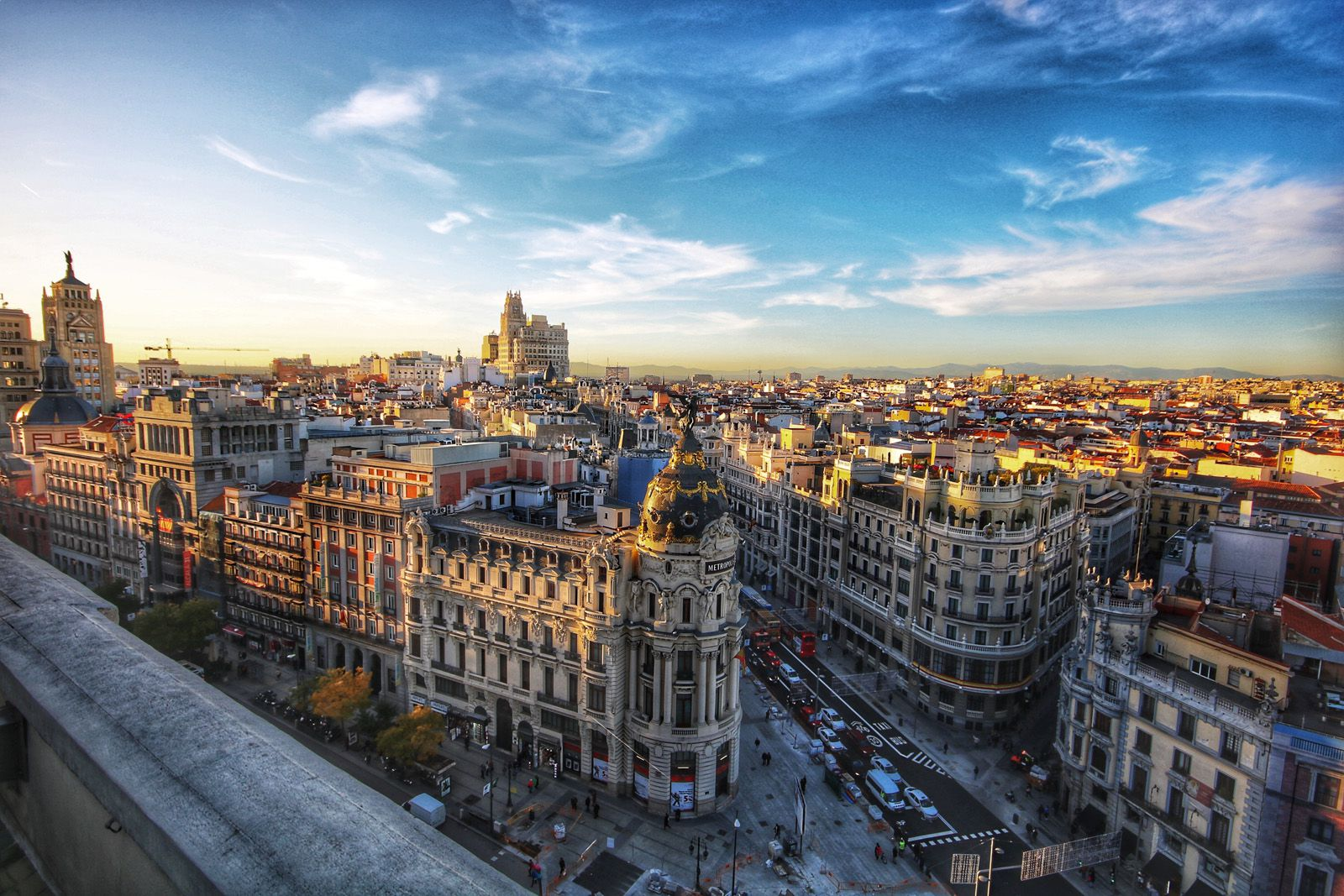CoVAL Conference 2020 Madrid: View of Madrid Skyline