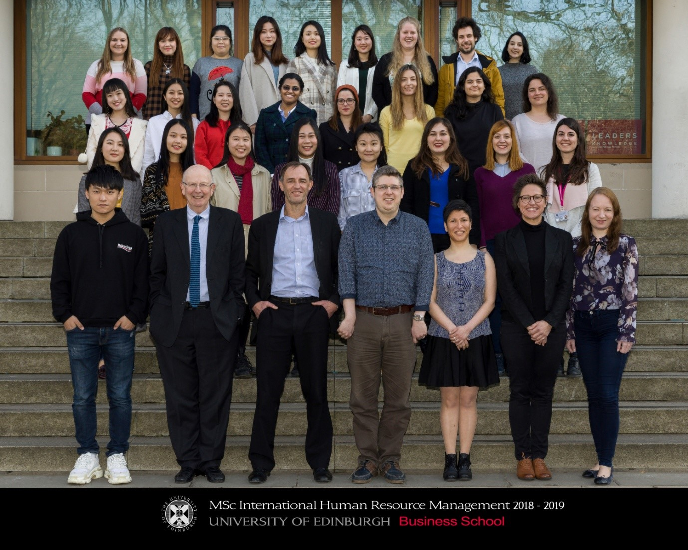 University of Edinburgh Masters in Humans Resource Management students