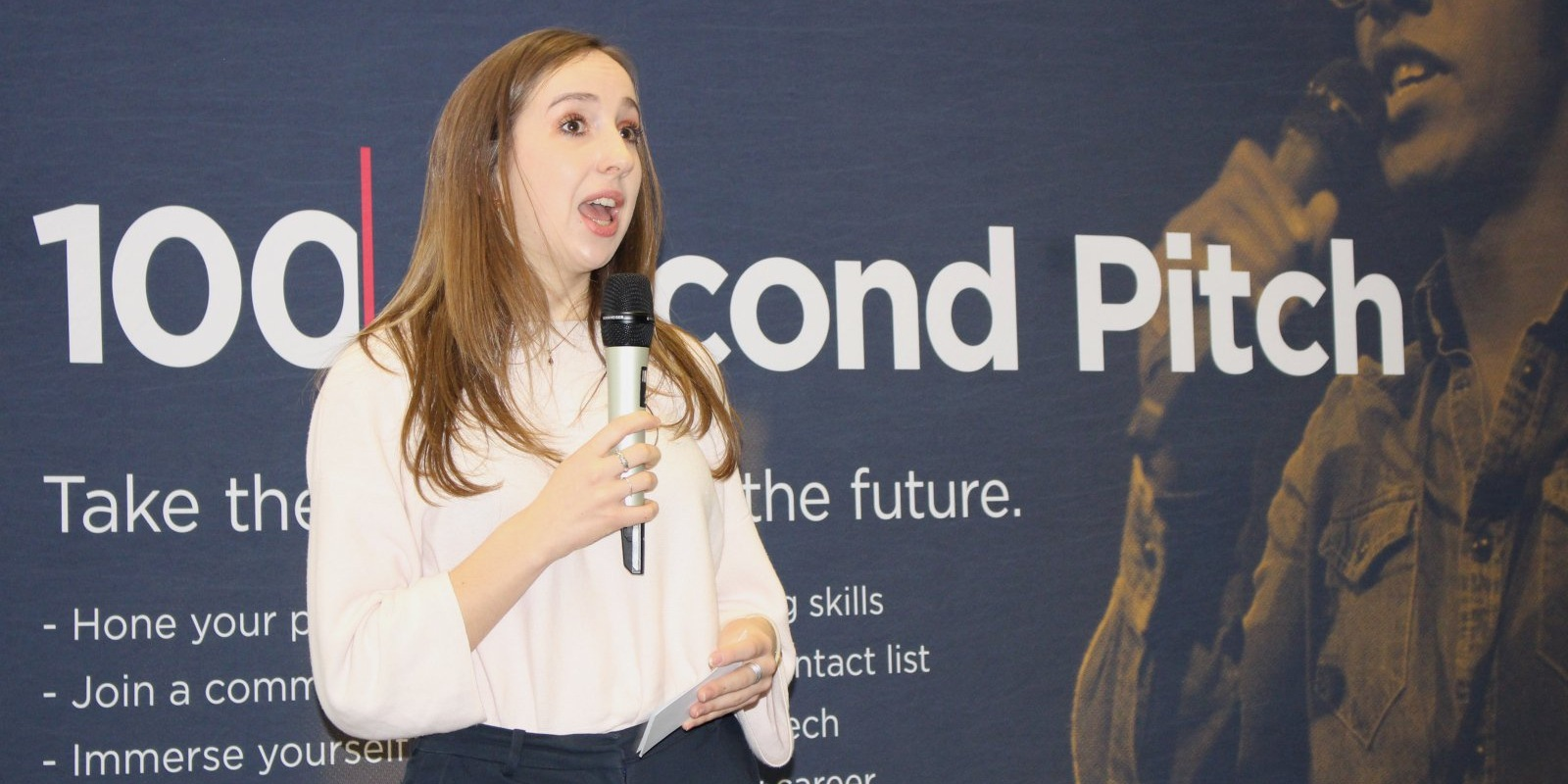 100 Second Pitch Speaker