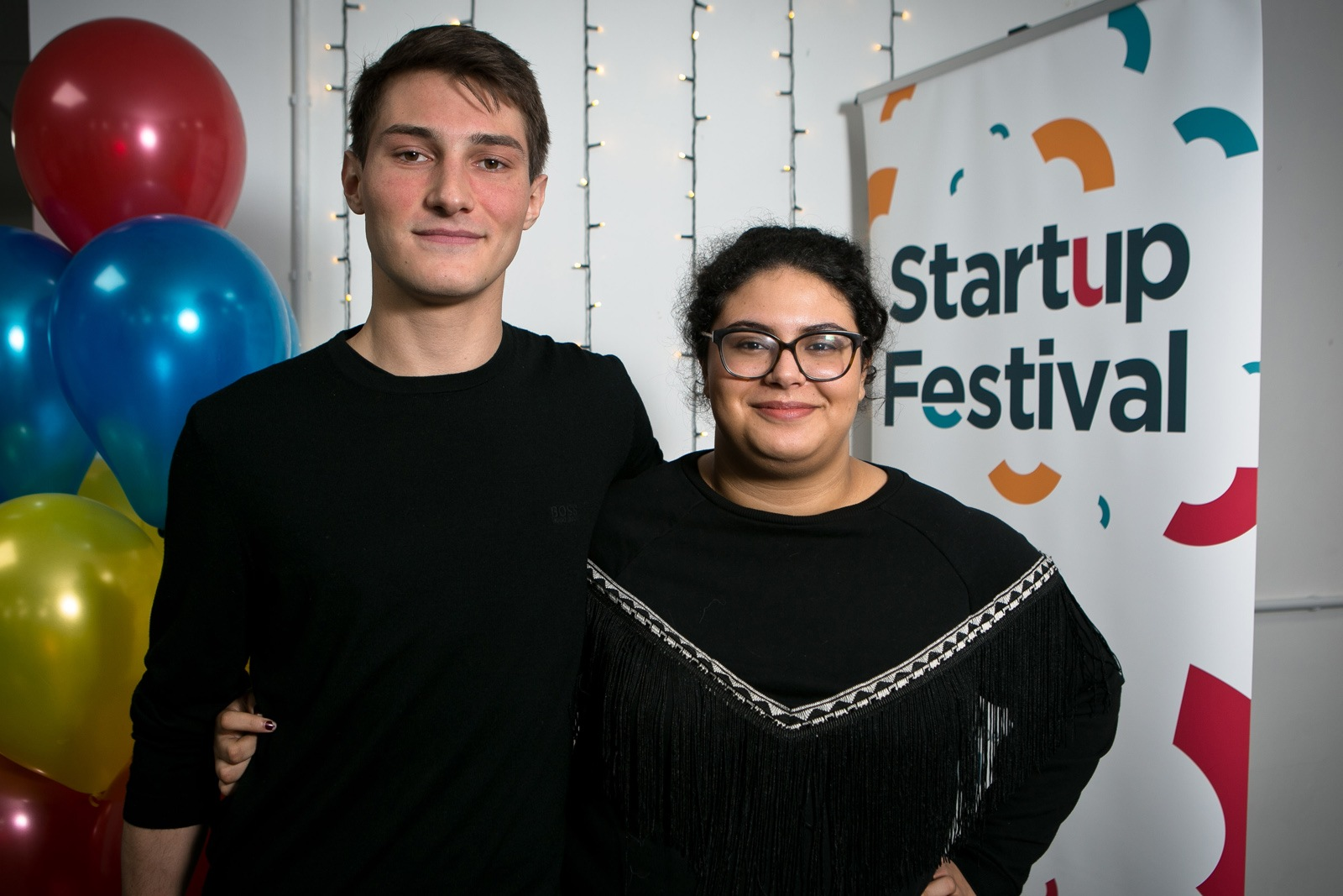Moritz Müller and Iman Mouloudi of Augment Bionics