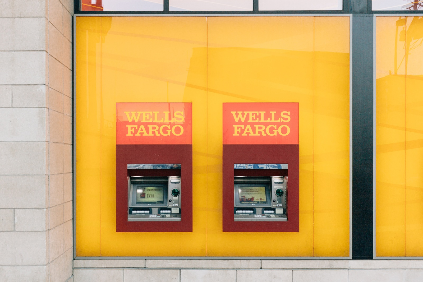 Wells Fargo Bank Machines