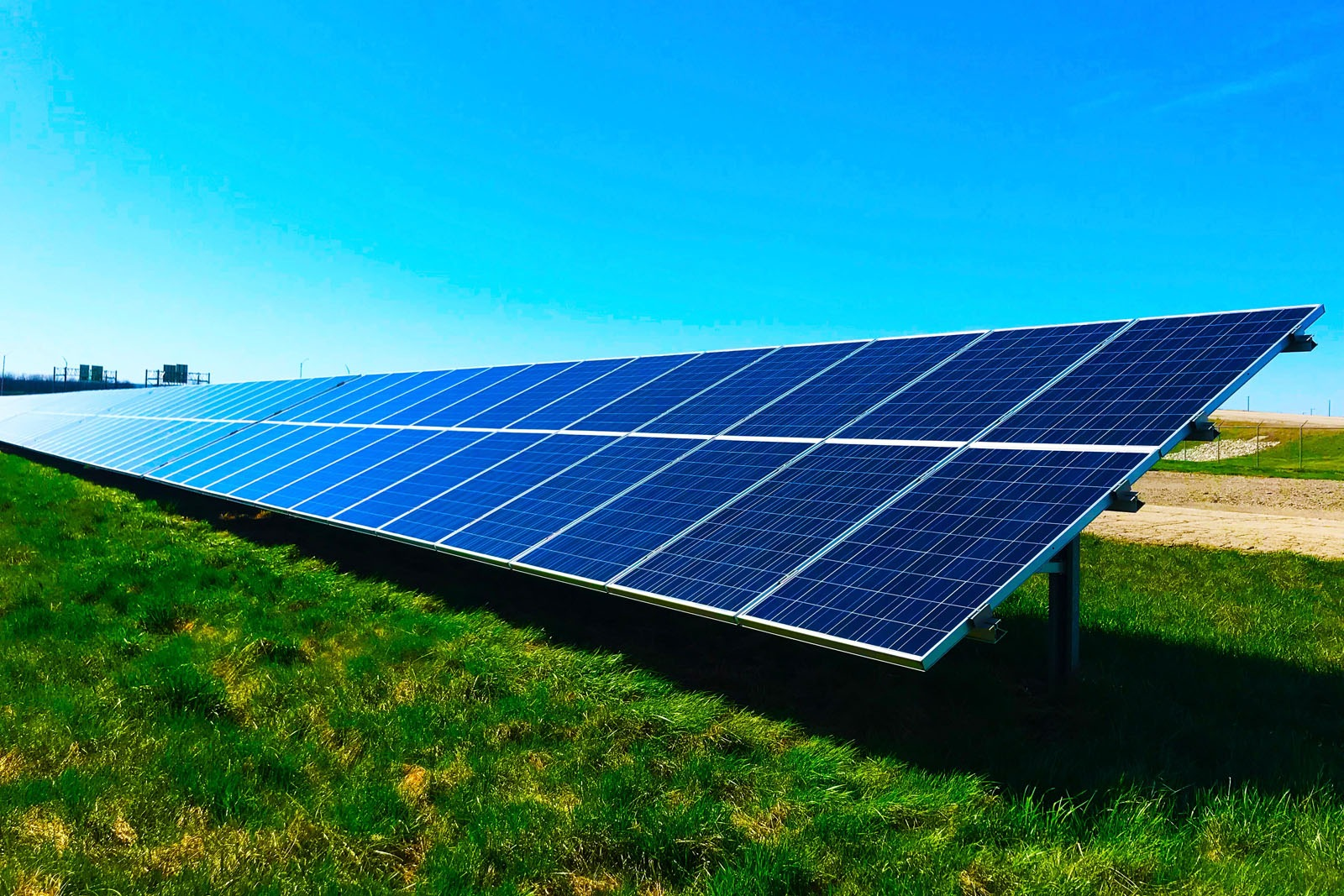 New course to help finance professionals address climate change - image of solar panels