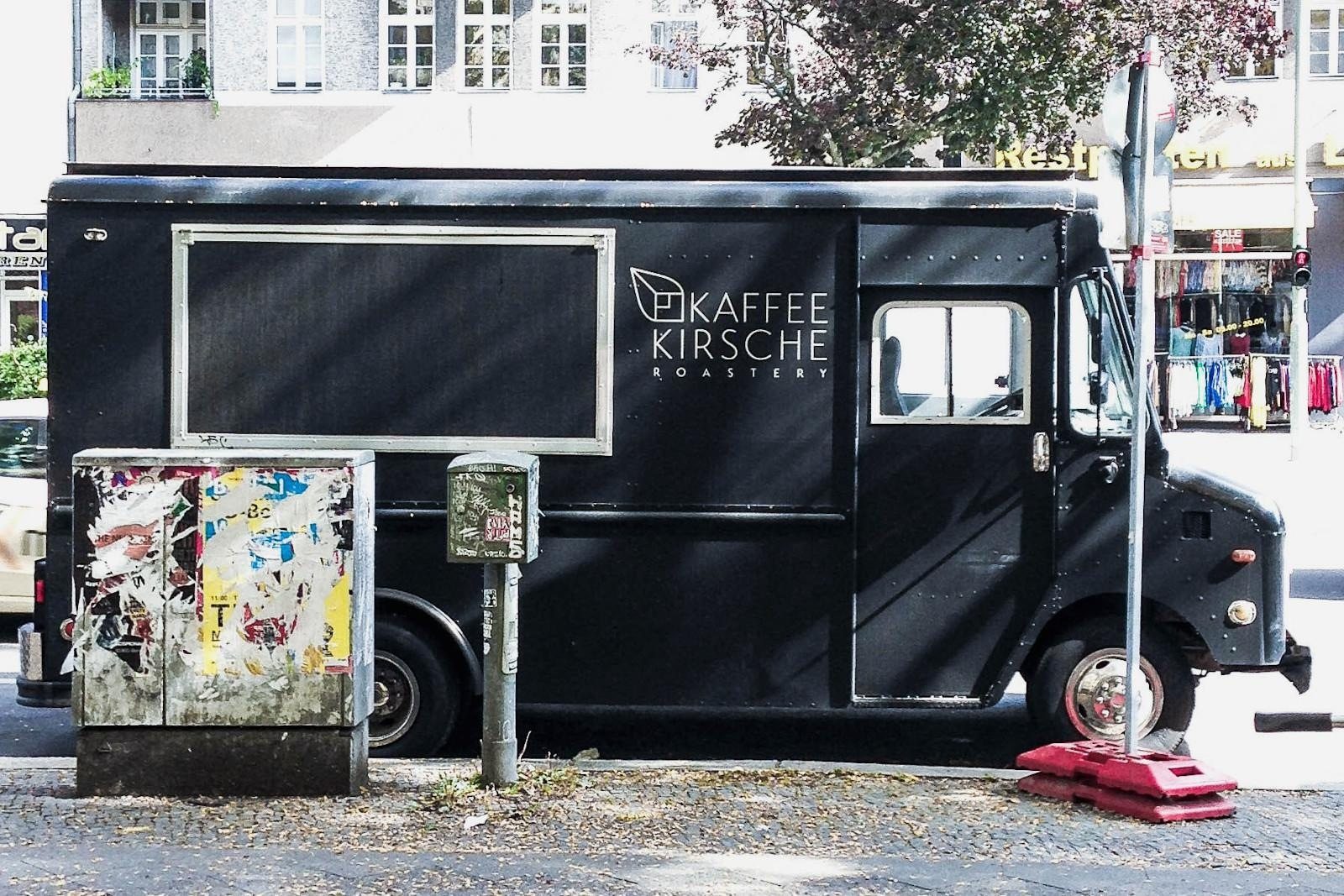 entrepreneurial firms reacting to coronavirus crisis - image of a Berlin coffee stand