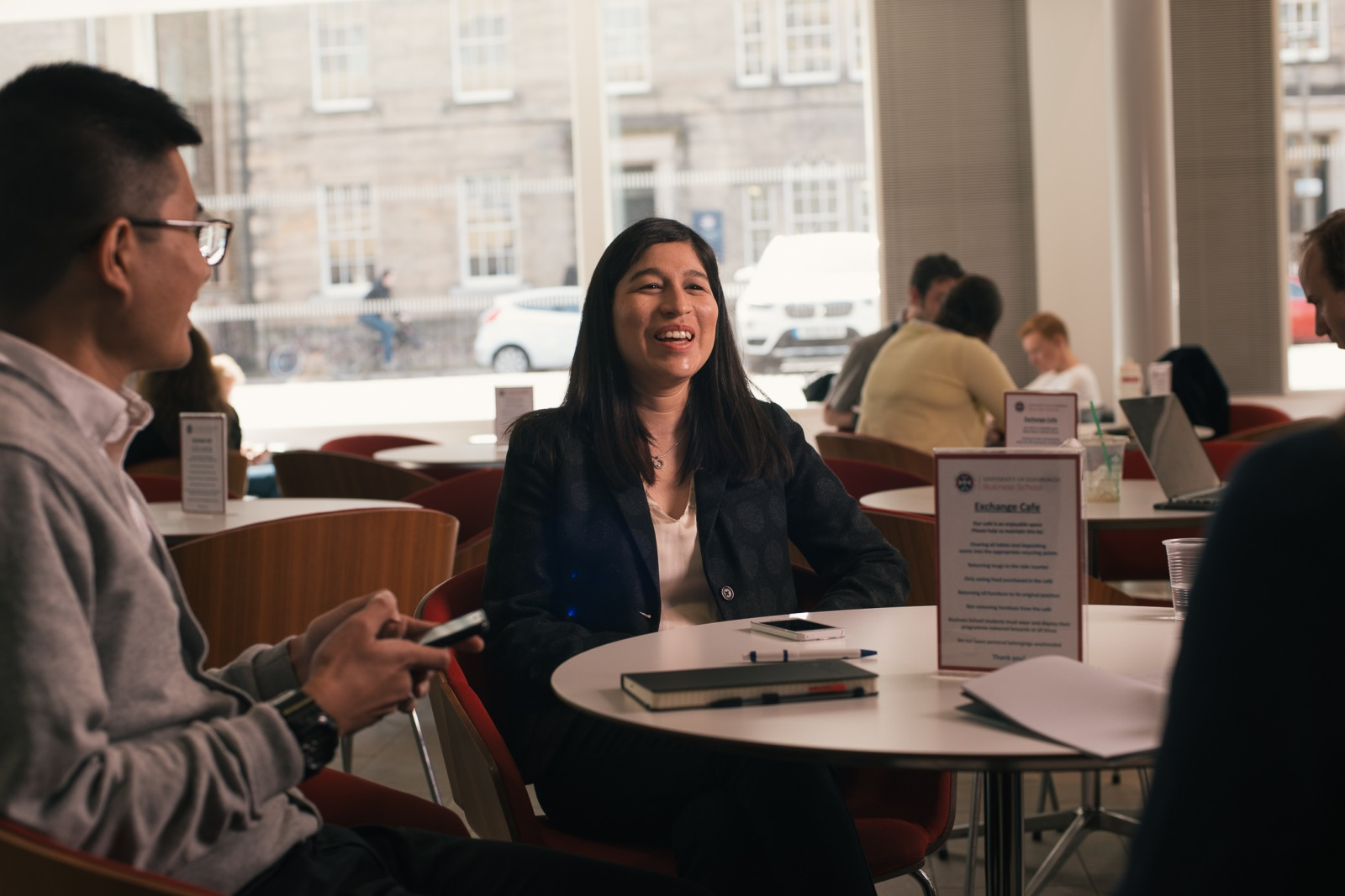Time Flies: Students at the University of Edinburgh Business School